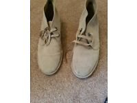 Suede shoes -size 9