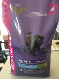Eukanuba dog food for large breed puppies