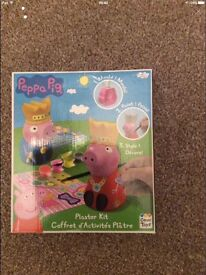 Peppa pig plaster kit brand new