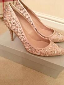 Brand New in Box Diamanté Kurt Geiger Shoes