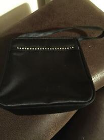 Black bag with diamonte detail