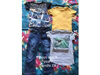 Boys age 3 years bundle of clothes
