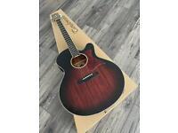 Super Jumbo Electro Acoustic Guitar RRP £399 Tanglewood TW4 SJ AVB Winterleaf Cutaway solid top