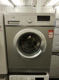 Brand New LOGIK L612WMS17 6 kg 1200 Spin Washing Machine - Silver