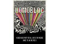 Homobloc x 2 tickets November 6th 2021 Manchester