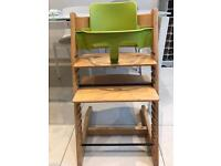 Stokke Tripp trap chair and baby set