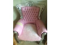 Shabby chic children's chair