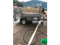 GD84Mk3 caged trailer by Ifor Williams