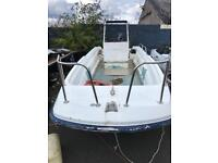 17ft dell quay dory and 2006 evinrude 50hp efi