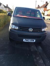 VW t5 van for sale. 2013. NO VAT