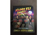 KUNG FU HERO: Comedy Shorts Gamer SINGED HARD COVER BOOK