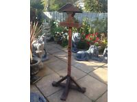 Excellent condition bird table