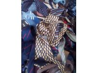 Wholesale Joblot Clothing 400 Mens Ties Vintage Donations Secondhand
