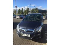 Vauxhall Zafira 1.6 Club 07 Plate 61k miles Full MOT. Not mazda5 renault citreon ford