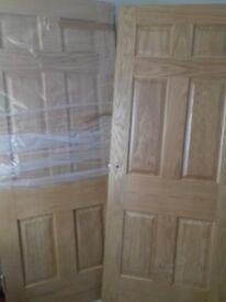oak veener doors