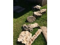 Free for uplift, rockery stones for decoration ,