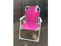Kid's garden folding chair