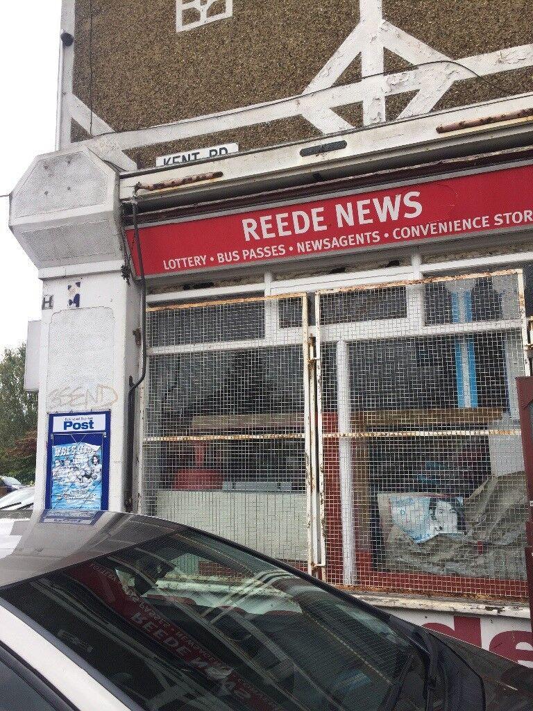 News agent shop