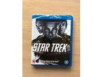 Star Trek & Star Trek: Into Darkness blu-rays