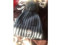 Moncler winter hat not Gucci