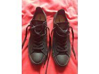 Brand New Men's Black Size 10 Converse