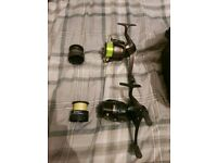 Fishing Bag, Reels and Rod