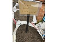 Free top soil and clean rubble / hardcore