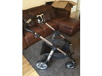 Silver Cross Pioneer Pushchair & Carry Cot