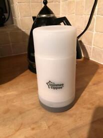 Tomee tipee bottle warmer - never used