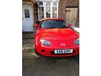 Mazda Mx5 Red coupe