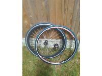 Bike road wheelset