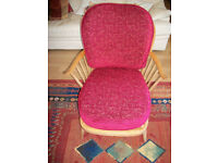 Ercol Lounge Chair rare design
