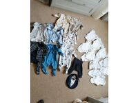 0-1 month baby boy clothes