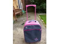 Small Pink Suitcase in very good condition