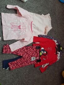 9-12 months girls new clothes