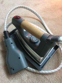 Iron attachment for Polti steam cleaner