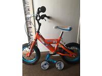 """Kids dusty 7 12"""" bike"""