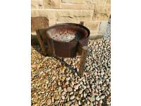 Fire pit patio heater
