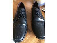 Samuel Windsor black men's shoes size 10