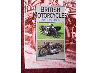British Motorcycles of the 30s Illustrated Hardback book