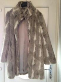 Size 14 ladies fur jacket