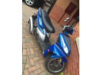 50cc moped 2015 low mileage
