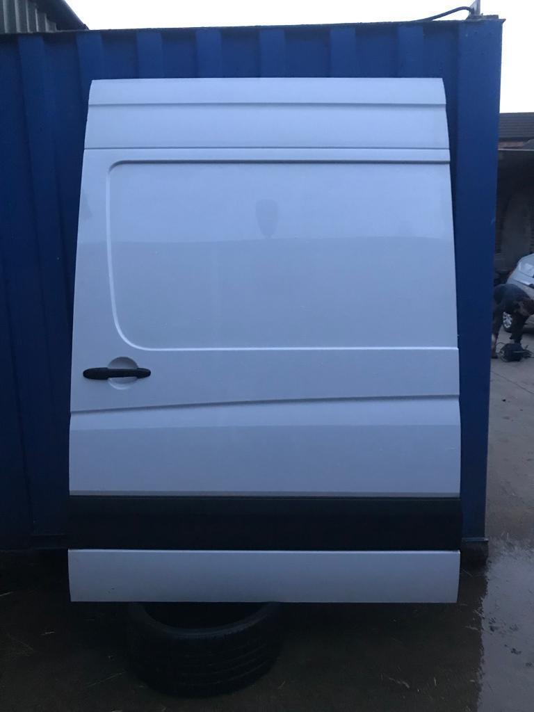 Volkswagen Crafter Side Loading Door Same As Mercedes Sprinter Sliding