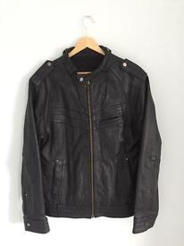 Leather Jacket S/M