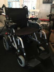 Electric wheel chair mobility travelux corrado powerd wheelchair