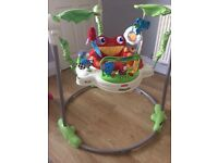 Jumperoo - Fisher price rainforest design