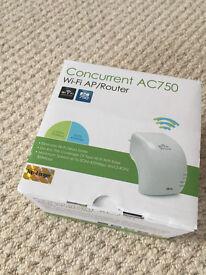 Wi-Fi AP/Router Concurrent AC750