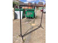Heavy duty clothes rails and 4 arm rails 2 arm rails shelving for rails