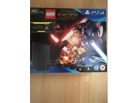 PS4 slim lego Star Wars and Star Wars the force awakens blue ray DVD