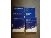 Osborne Accounting Study Books AAT Level 3 (6 books in total)